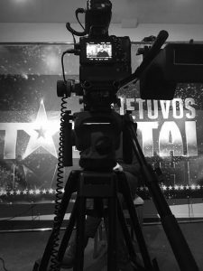 TV laidų filmavimas